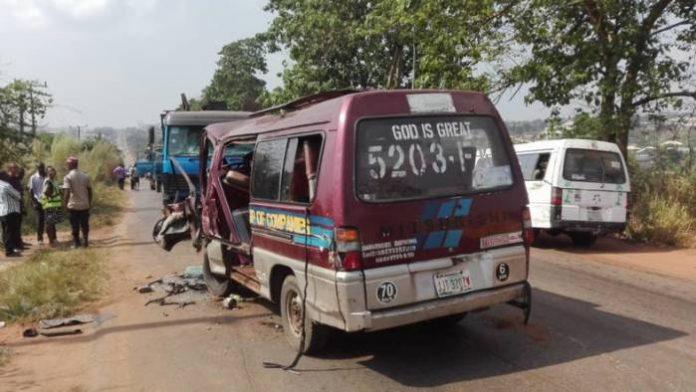 17 Persons Escape Death In Anambra Multiple Crash