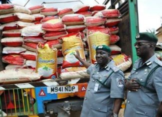 Army Intercepts 85 Bags Of Smuggled Rice In Ebonyi Community