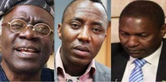 I Can't Order DSS To Release Sowore, Malami Replies Falana