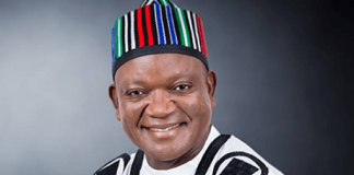 Christmas: Ortom Preaches Peace, Harmony, Tolerance For One Another