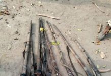 Army, NDLEA Recover 725 Bags Of Suspected Cannabis, Eight Guns, In Edo