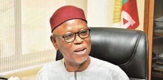 "Edo APC Crisis ""Tragic And Unfortunate"", Says Oyegun"
