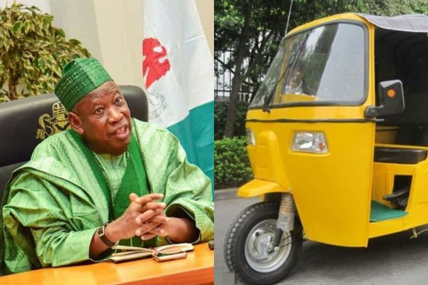 Kano Governor Bans Opposite Sexes From Plying Same Tricycles