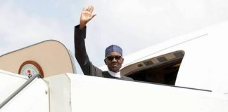 Buhari Jets Off To Egypt