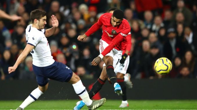 Rashford Scores Twice As United Sink Mourinho's Spurs