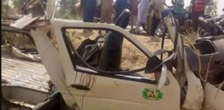 28 Family Members Die inIn Bauchi Auto Crash