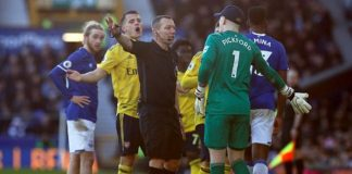Everton Held By Arsenal As New Manager Ancelotti Watches On