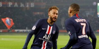 Mbappe, Neymar on target as PSG sink Nantes