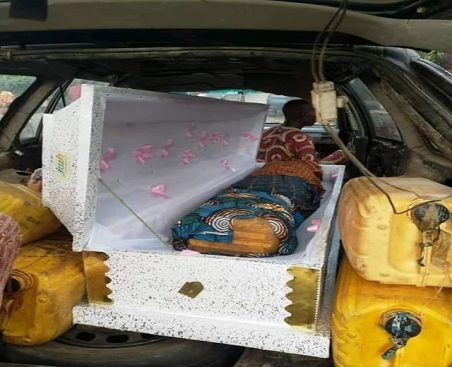 Customs Intercepts Jerry Cans Of Petrol Concealed In 2 Caskets