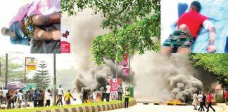 15 Injured As Oshiomhole, Obaseki Supporters Clash