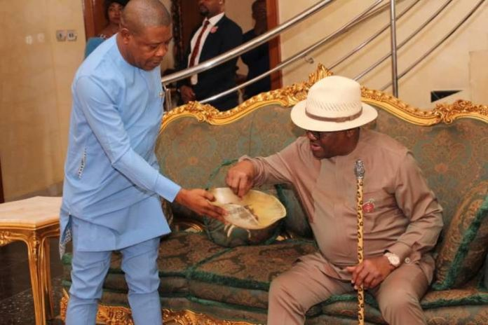 Governor Nyesom Ezenwo Wike Visits Governor of Imo State, Mr. Emeka Ihedioha