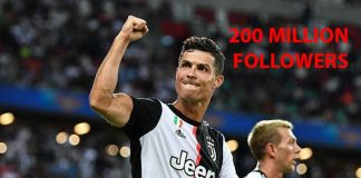 Cristiano Ronaldo Hits 200 Million Followers On Instagram
