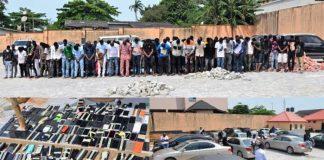 EFCC Raids Ibadan Night Club, Arrests 89 Suspected 'Yahoo-Boys'