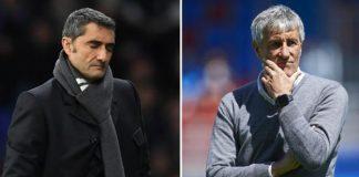 Barcelona Sack Coach, Ernesto Valverde, Appoint Quique Setien
