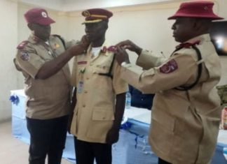 FRSC promotes, decorates 35 officers
