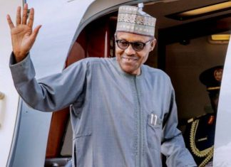 Buhari Jets Off To London For Investment Summit