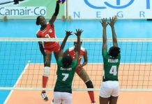 Team Nigeria Record First Win At 2020 Olympic's Volleyball Qualifiers