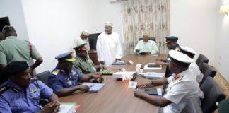 Buhari, Service Chiefs Meet In Abuja