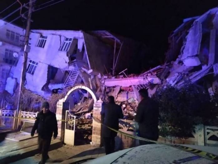 Turkey Earthquake: At Least 20 Dead as 6 Buildings Collapse