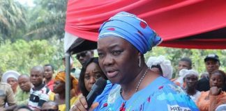 Akpabio's Wife Donates Houses To Widows In Akwa Ibom State, Says It's Visitation From God