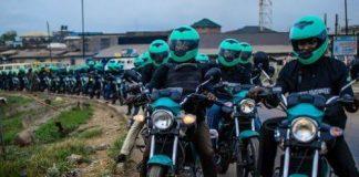BREAKING: Gokada, Max Riders Stage Protest Against Okada Ban in Lagos