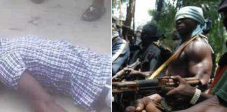 BREAKING: PDP Ward Chairman Killed By Gunmen In Delta