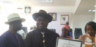 BREAKING: Diri Receives CoR, Says God Has Healed Bayelsa