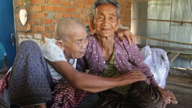 Cambodian Sisters, 98, 101, Reunited After 47 Years