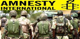 Amnesty Accuses Nigerian Military Of Burning Villages In Borno