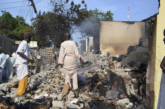 Many Killed, Houses Burnt As Boko Haram Terrorists Invade Adamawa Town