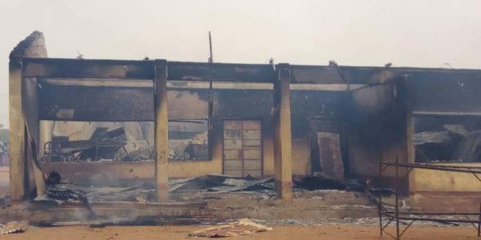 Fire Razes Govt. Sec. School Gboko, Destroys JAMB/WAEC/NECO Documents