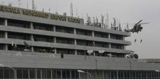 Police, Air Force take Over MMIA Toll Gate