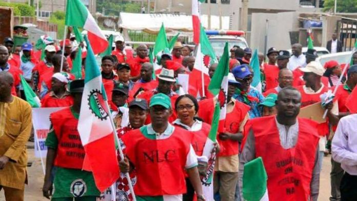 Minimum Wage: Labour Unions To Embark on Indefinite Strike Tuesday