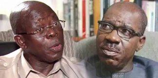 Obaseki Seeks Oshiomhole's Arrest For Alleged Breach Of Peace