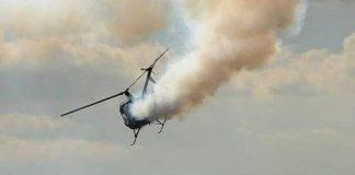 Bandits Shoot Down Police chopper in Kaduna
