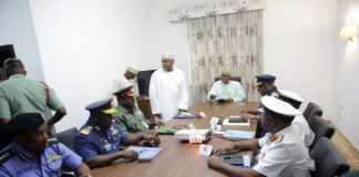 Insecurity: Buhari, Service Chiefs Meet Again In Abuja