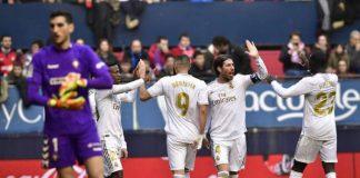 Real Madrid Extend LA Liga Lead With Come Back Win Over Osasuna
