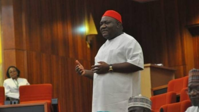 Senate Bids Ben Uwajumogu Farewell