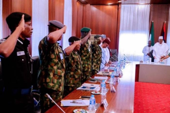Why Service Chiefs Won't Be Sacked Now – Presidency