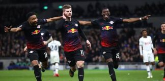 UCL: Werner Penalty Kick Gives RB Leipzig Win At Tottenham Hotspur