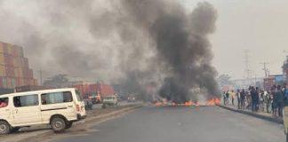 Two People Sustain Gunshot Injuries As Police, Okada Riders Clash In Lagos