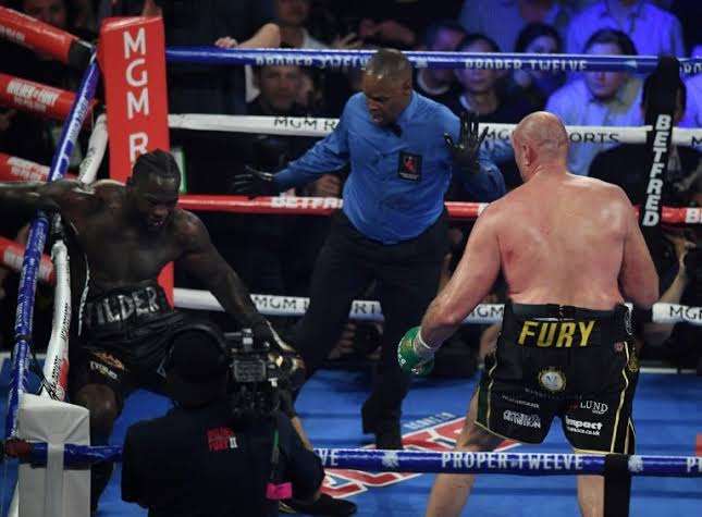 Fury Beats Wilder By TKO To Win WBC Heavyweight World Championship