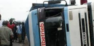 Truck Crushes One To Death, Injures 4 In Abuja