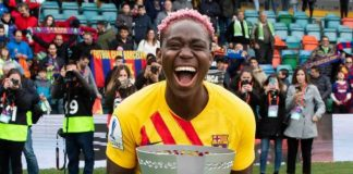 Oshoala's Brace Helps Barcelona Win Maiden Spanish Super Cup