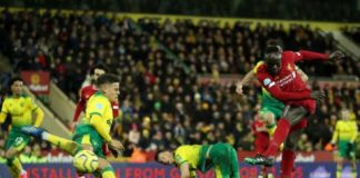 Mane's Goal Breaks Norwich Resistance For Liverpool To Go 25 Points Clear
