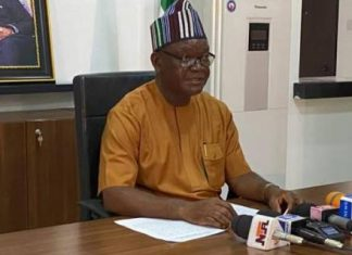 COVID-19: Ortom Imposes Dusk To Dawn Curfew In Benue, To Close Borders Wednesday