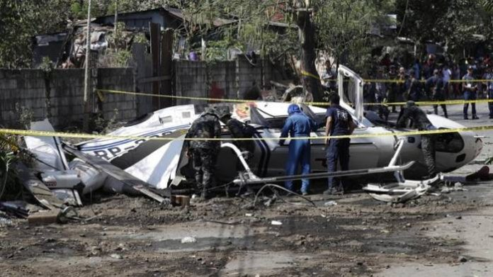Helicopter Carrying Police Chief, 7 Officials Crashes