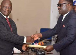 Ayade Swears In Acting Chief Judge Of Cross River