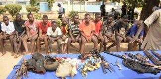 Benue Police Arrests 25 Suspects For Cultism, Robbery