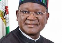 COVID-19: Benue Bans Visitors From Govt House, Approves N50m For Committee On Virus